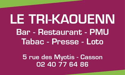 Le Tri-Kaouenn - Bar, restaurant, PMU, tabac, presse