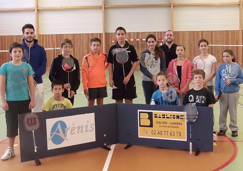 Stage de badminton ados - octobre 2013
